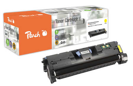 Peach  Tonermodul gelb kompatibel zu Original HP Color LaserJet 2820
