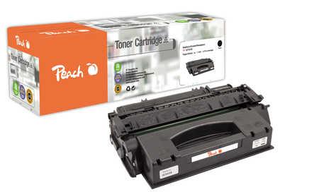Peach  Tonermodul schwarz, High Capacity kompatibel zu Original HP LaserJet P 2010 Series