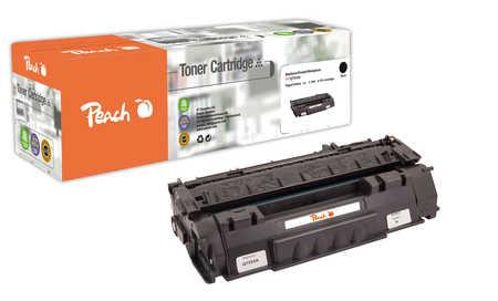 Peach  Tonermodul schwarz kompatibel zu Original HP LaserJet P 2010 Series