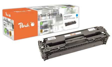Peach  Tonermodul cyan, kompatibel zu Original HP LaserJet Pro 200 Series