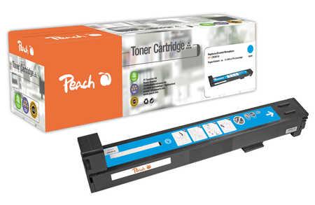 Peach  Tonermodul cyan kompatibel zu Original HP Color LaserJet CP 6015 Series