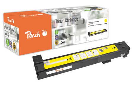 Peach  Tonermodul gelb kompatibel zu Original HP Color LaserJet CP 6015 Series