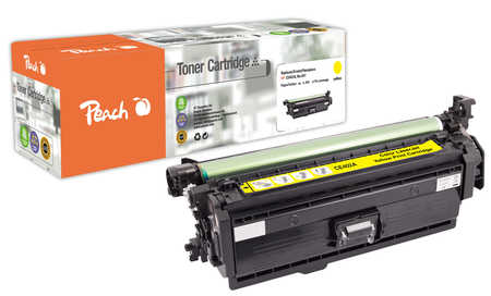 Peach  Tonermodul gelb kompatibel zu Original HP Color LaserJet Managed M 575 cm
