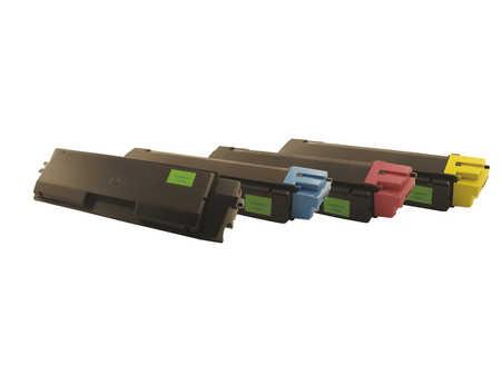 Peach  Spar Pack Tonermodule kompatibel zu Original Kyocera FSC 2100 Series