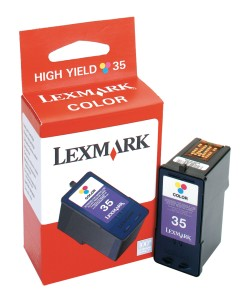 Original  Tintenpatrone color, High Capacity Lexmark X 5430