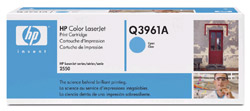Original  Tonerpatrone cyan HP Color LaserJet 2820