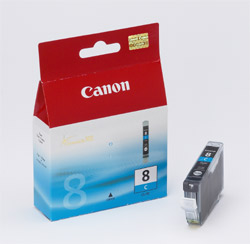 Original  Tintenpatrone cyan Canon Pixma IX 4000 Series