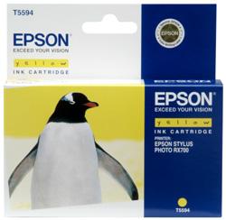 Original  Tintenpatrone gelb Epson Stylus Photo RX 700