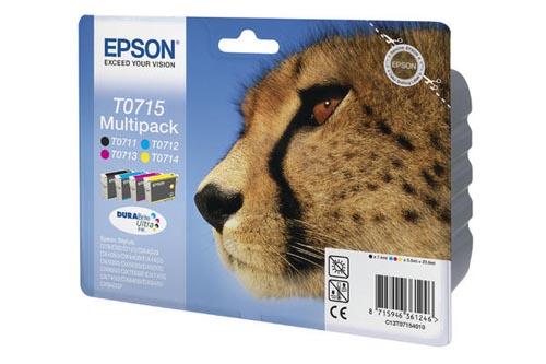 Original  Multipack Tinte schwarz, color, Epson Stylus Office BX 600 FW