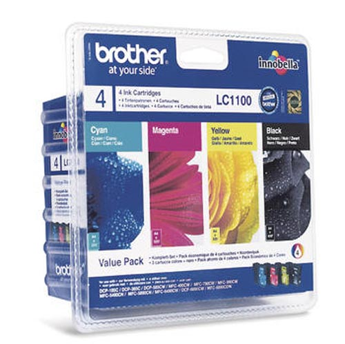 Original  Valuepack Tinte schwarz, color, Brother DCP-387 C