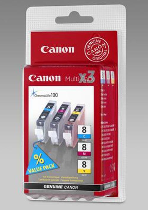 Original  Multipack Tinte color, Canon Pixma IX 4000 Series