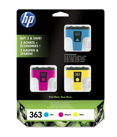 Original  3-Pack Tinte color, HP PhotoSmart 3310