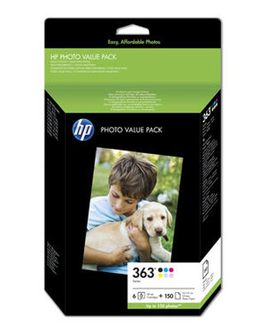 Original  Bundle Tinte color, 6-farbig, HP PhotoSmart 3310