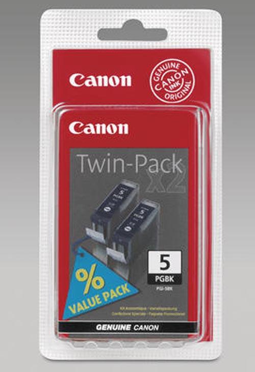 Original 2  Tintenpatronen schwarz, Canon Pixma IX 4000 Series