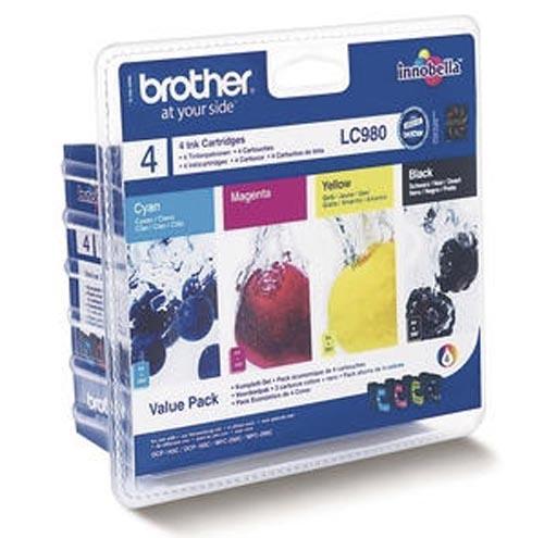 Original  Valuepack Tinte schwarz, color, Brother MFC-290 Series