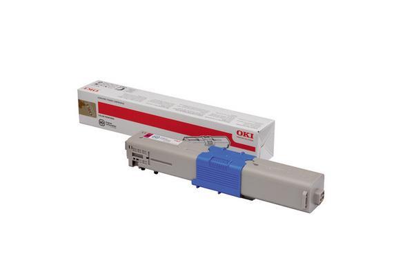Original  Tonerpatrone magenta OKI MC 340 Series