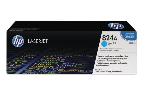 Original  Tonerpatrone schwarz HP Color LaserJet CP 6015 Series