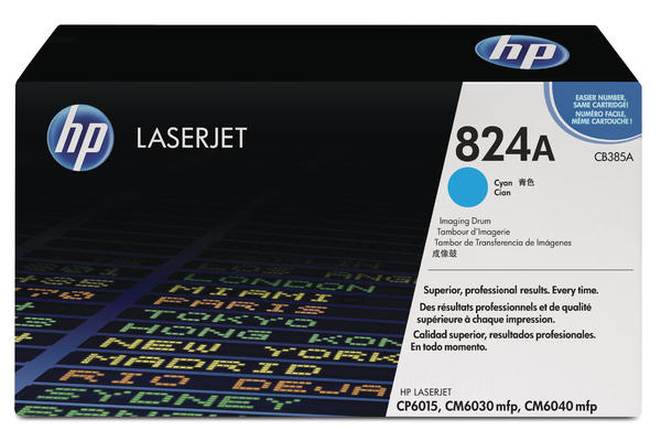 Original  Drum Unit, cyan HP Color LaserJet CP 6015 Series