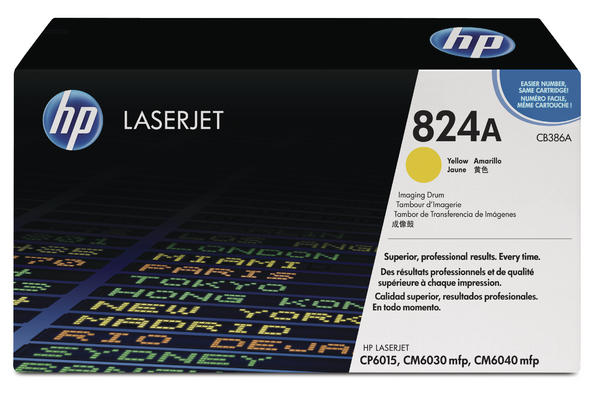 Original  Drum Unit, gelb HP Color LaserJet CP 6015 Series