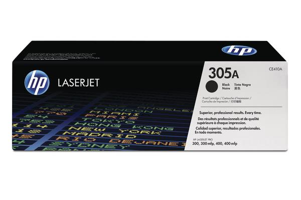 Original  Tonerpatrone schwarz HP LaserJet Pro 400 color M 475 dn
