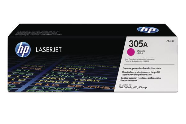 Original  Tonerpatrone magenta HP LaserJet Pro 400 color M 475 dn