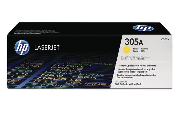 Original  Tintenpatrone gelb HP LaserJet Pro 400 color M 475 dn