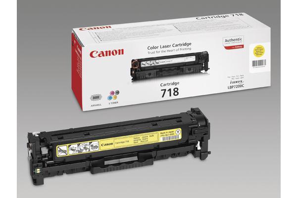 Original  Tonerpatrone gelb Canon iSENSYS MF 8540 cdn