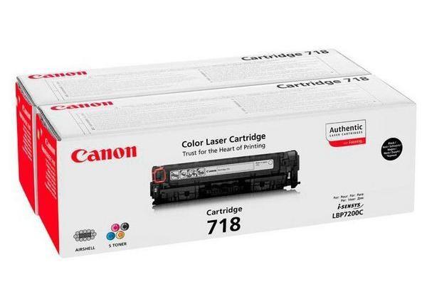 Original  Tonerpatronen Twinpack XL schwarz Canon iSENSYS MF 8540 cdn
