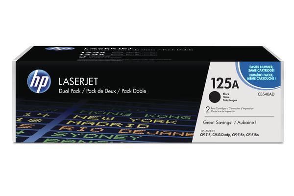 Original 2  Tonerpatronen schwarz HP Color LaserJet CP 1510 Series