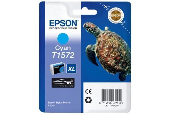 Original  Tintenpatrone cyan Epson Stylus Photo R 3000