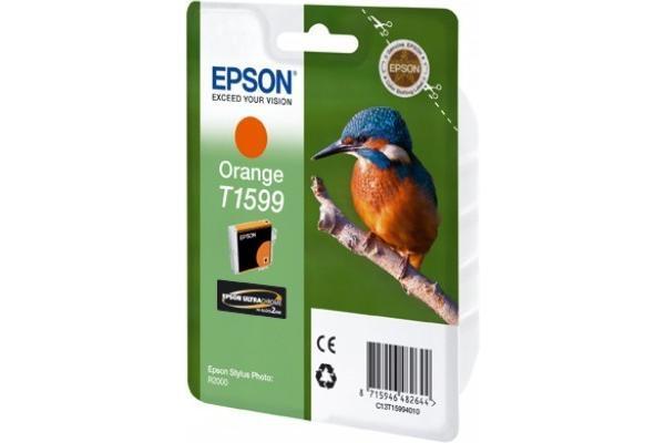 Original  Tintenpatrone orange Epson Stylus Photo R 2000