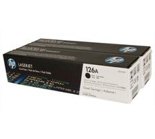 Original 2  Tonerpatronen schwarz HP LaserJet Pro 100 Color MFP M 175 r