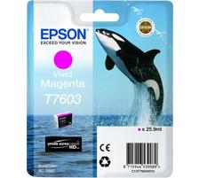Original  Tintenpatrone vivid magenta Epson SureColor SCP 600