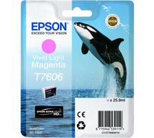 Original  Tintenpatrone vivid light magenta Epson SureColor SCP 600