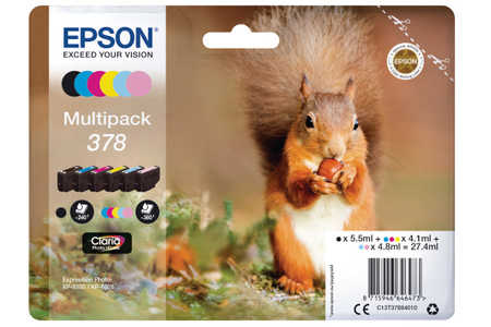Original  Multipack Tinte 6-farbig Epson Expression Photo XP-8505
