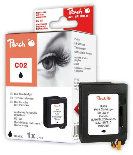 Peach  Druckkopf schwarz kompatibel zu Original Brother HJ 400