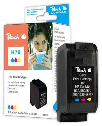 Peach  Druckkopf color High Capacity kompatibel zu Original HP OfficeJet G 85
