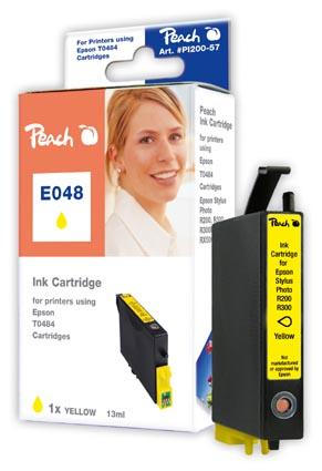 Peach  Tintenpatrone gelb kompatibel zu Original Epson Stylus Photo RX 300