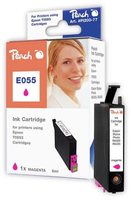 Peach  Tintenpatrone magenta kompatibel zu Original Epson Stylus Photo RX 520