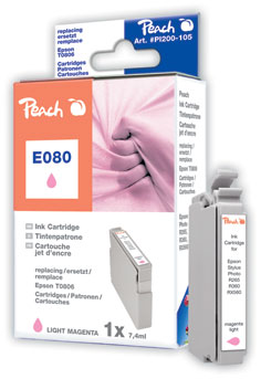 Peach  Tintenpatrone magenta light kompatibel zu Original Epson Stylus Photo R 265