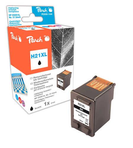 Peach  Druckkopf schwarz kompatibel zu Original HP DeskJet D 1568