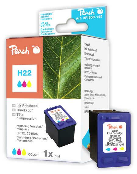 Peach  Druckkopf color kompatibel zu Original HP DeskJet D 1568