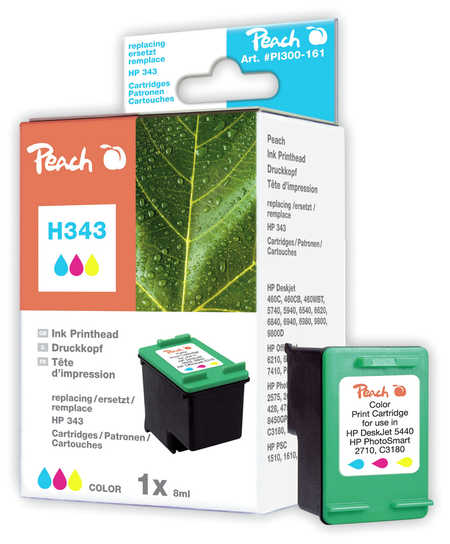Peach  Druckkopf color kompatibel zu Original HP PhotoSmart 385 XI
