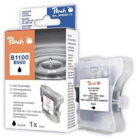 Peach  Tintenpatrone schwarz kompatibel zu Original Brother MFC-290 Series