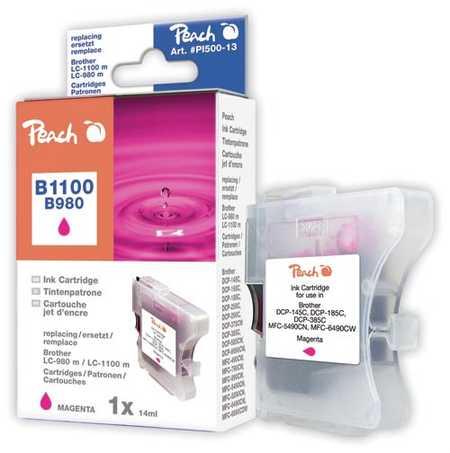 Peach  Tintenpatrone magenta kompatibel zu Original Brother MFC-290 Series