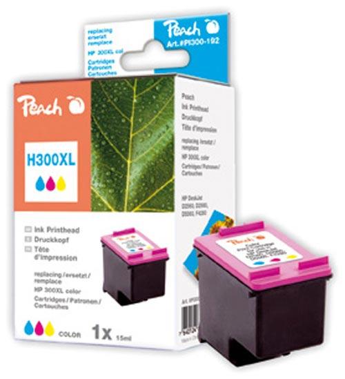 Peach  Druckkopf color kompatibel zu Original HP DeskJet D 2530