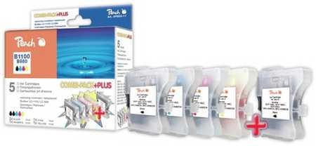 Peach  Spar Pack Plus Tintenpatronen kompatibel zu Original Brother MFC-290 Series
