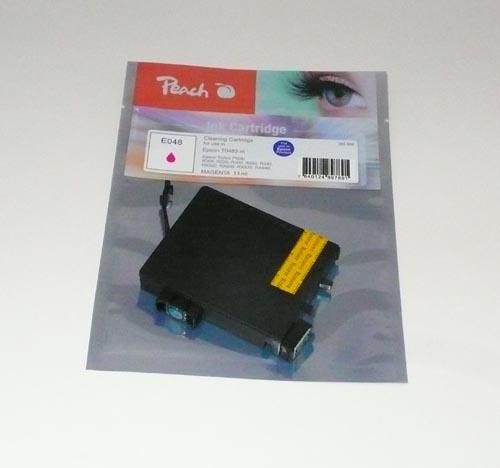 Peach  Reinigungspatrone, magenta, kompatibel zu Original Epson Stylus Photo RX 640