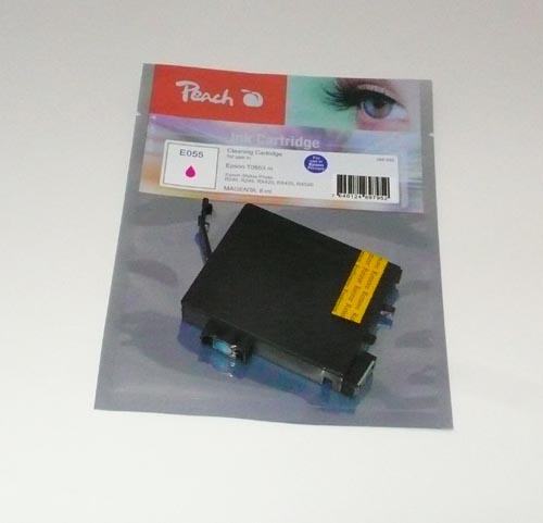 Peach  Reinigungspatrone, magenta, kompatibel zu Original Epson Stylus Photo R 240