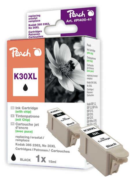 Peach  Tintenpatrone schwarz kompatibel zu Original Kodak Hero 3 1
